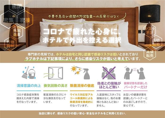 新宿エリアで安全に利用可能なラブホテル